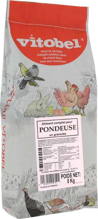 vitobel aliment poules pondeuses 8 kg vitakraft. Black Bedroom Furniture Sets. Home Design Ideas