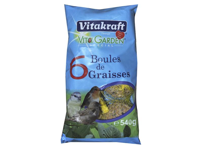 Boules de graisses 6 vitakraft - Boule de graisse oiseau ...